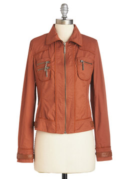Up for an Adventure Jacket in Rust