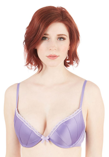 Glowing Grace Push-Up Bra in Lilac
