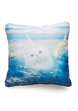 The Last Mew-nicorn Pillow