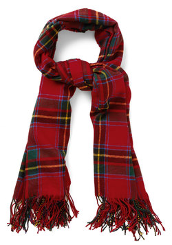 Keep it Classic Scarf in Red