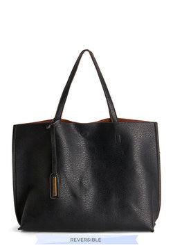 Two-Tone to Tango Bag in Black