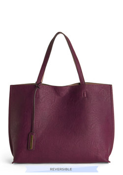 Two-Tone to Tango Bag in Plum