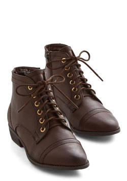Charm Beyond Compare Bootie in Brown