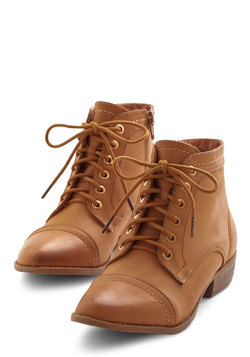 Charm Beyond Compare Bootie in Tan