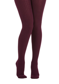 Cover Your Basics Tights in Aubergine