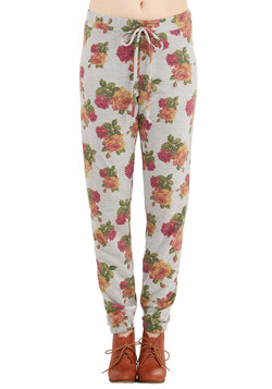 Afloat in Floral Pants