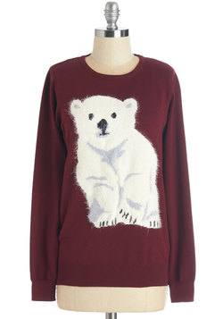 Polar Paw-pposites Sweater