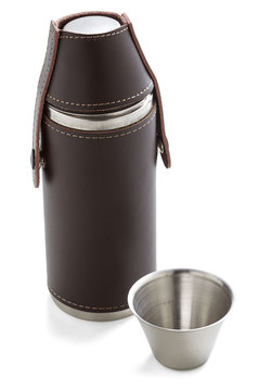 Rustic a Sip Flask Set