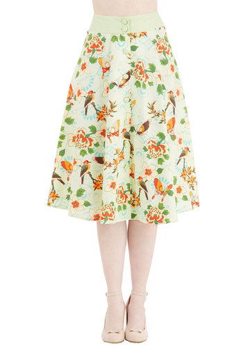 Flora and Drama Skirt