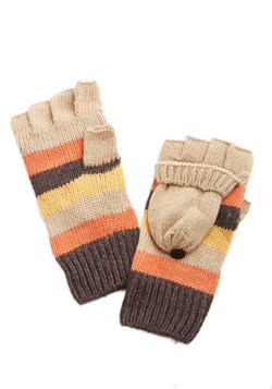 Hearth to Heart Convertible Gloves in Sunset