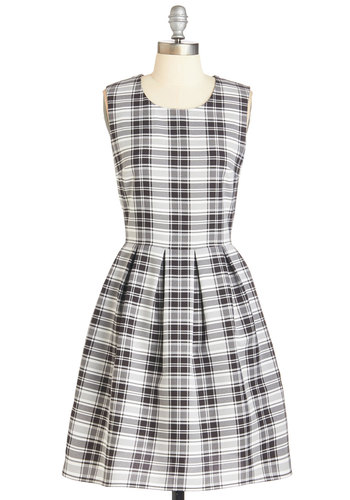 Plaid's Where It's At Dress