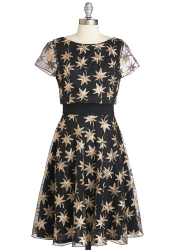 Eva Franco Love Will Find a Sway Dress in Leaves