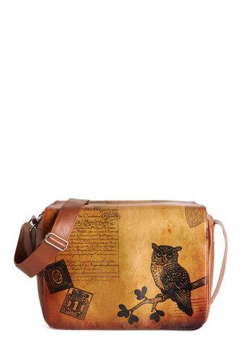 Sepia You Soon Bag in Owl