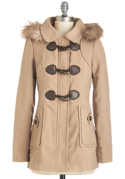 Harvest Fest Coat in Camel