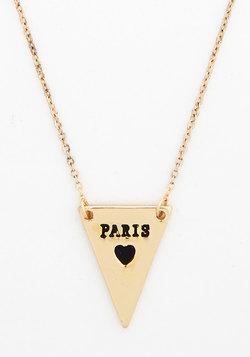 No Ordinary Coordinates Necklace in Paris