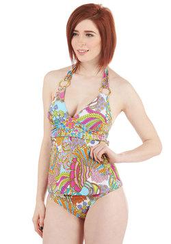 Trina Turk Always Makes a Splash Swimsuit Top
