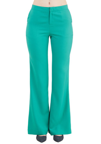 Assign of the Times Pants in Jade