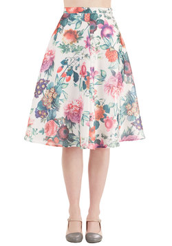 Among the Blooms Skirt