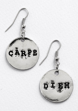 Odes of Wisdom Earrings