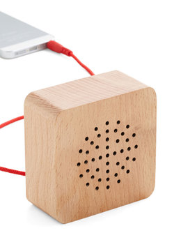 Wood You Turn It Up? Portable Speaker
