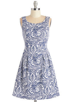 Dew You Believe in Magic? Dress in Paisley