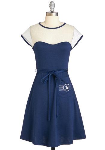 Tweetly Adorned Dress