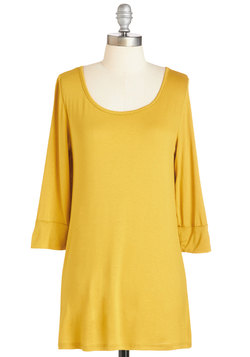 From Bliss Day Forward Tunic in Marigold
