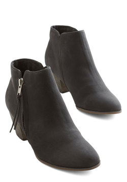 Here, There, and Everywhere Bootie in Black