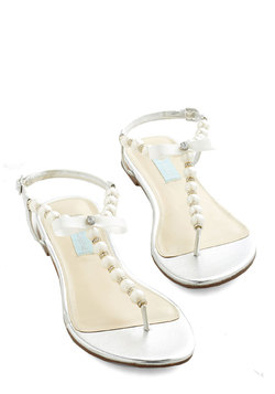 Betsey Johnson Pearly in the Day Sandal