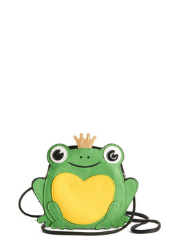 Ribbits in His Kiss Bag