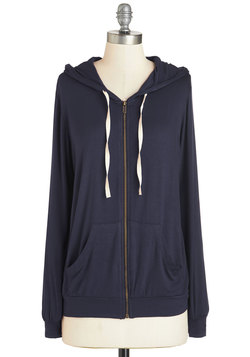 Layers Well with Others Hoodie in Navy