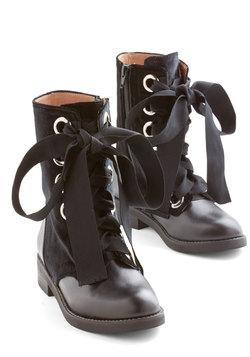 Jeffrey Campbell Velvet Wonder-Bound Boot in Black