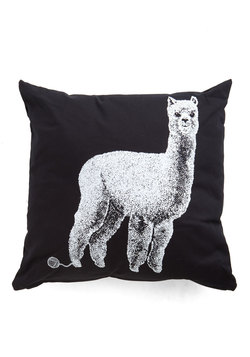 Alpacas a Punch Pillow