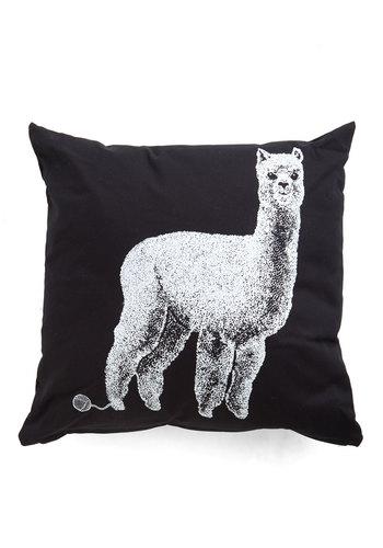 Alpacas a Punch Pillow
