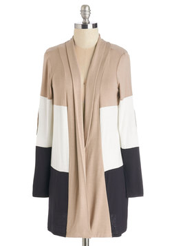 Patch My Drift? Cardigan in Latte