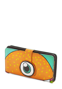 Flying Burger People Eater Wallet