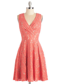 Labyrinthine Lace Dress