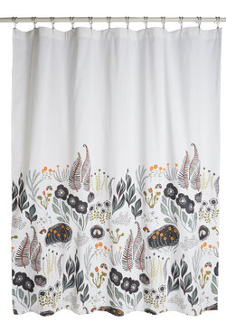 Flutter Beauty Shower Curtain