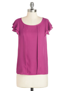 Time of Your Lively Top in Orchid