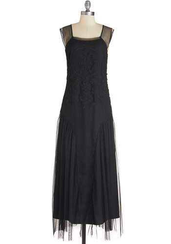 Downton Abbey Swoon After Midnight Dress