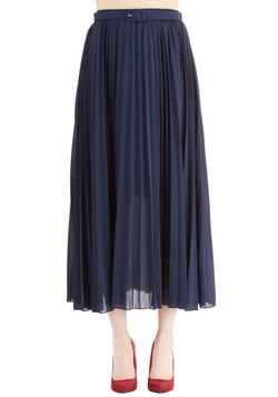 Of Allure Own Accordion Skirt