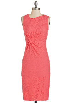 Sassy to See Dress in Coral