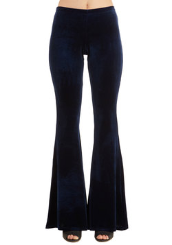 I'll Be Flare Pants in Sapphire