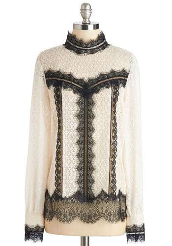 Anna Sui Stately Lady Top