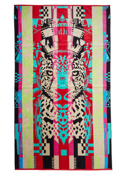 Pendleton Beachside Boldness Towel in Fierce