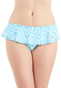 Betsey Johnson Dots of Fun Swimsuit Bottom