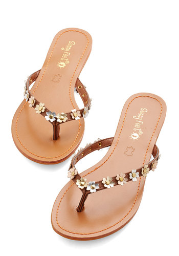 For What Glitz Worth Sandal