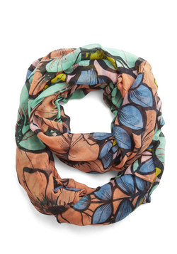 At a Blossom for Words Circle Scarf