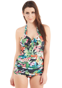 Tiki 'Nother Look One-Piece Swimsuit