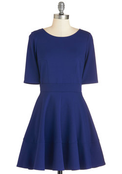 Dote Worry About It Dress in Navy